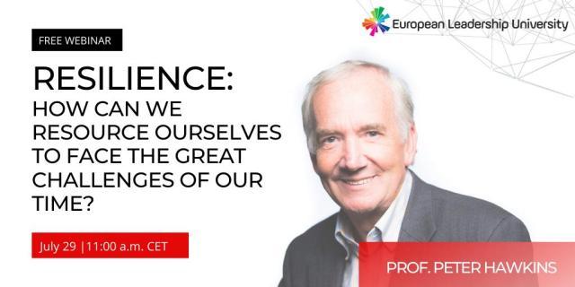 European Leadership University July 29 11.00 CET