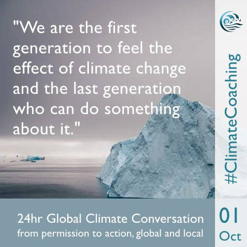 Climate Coaching Alliance 1st October 2020