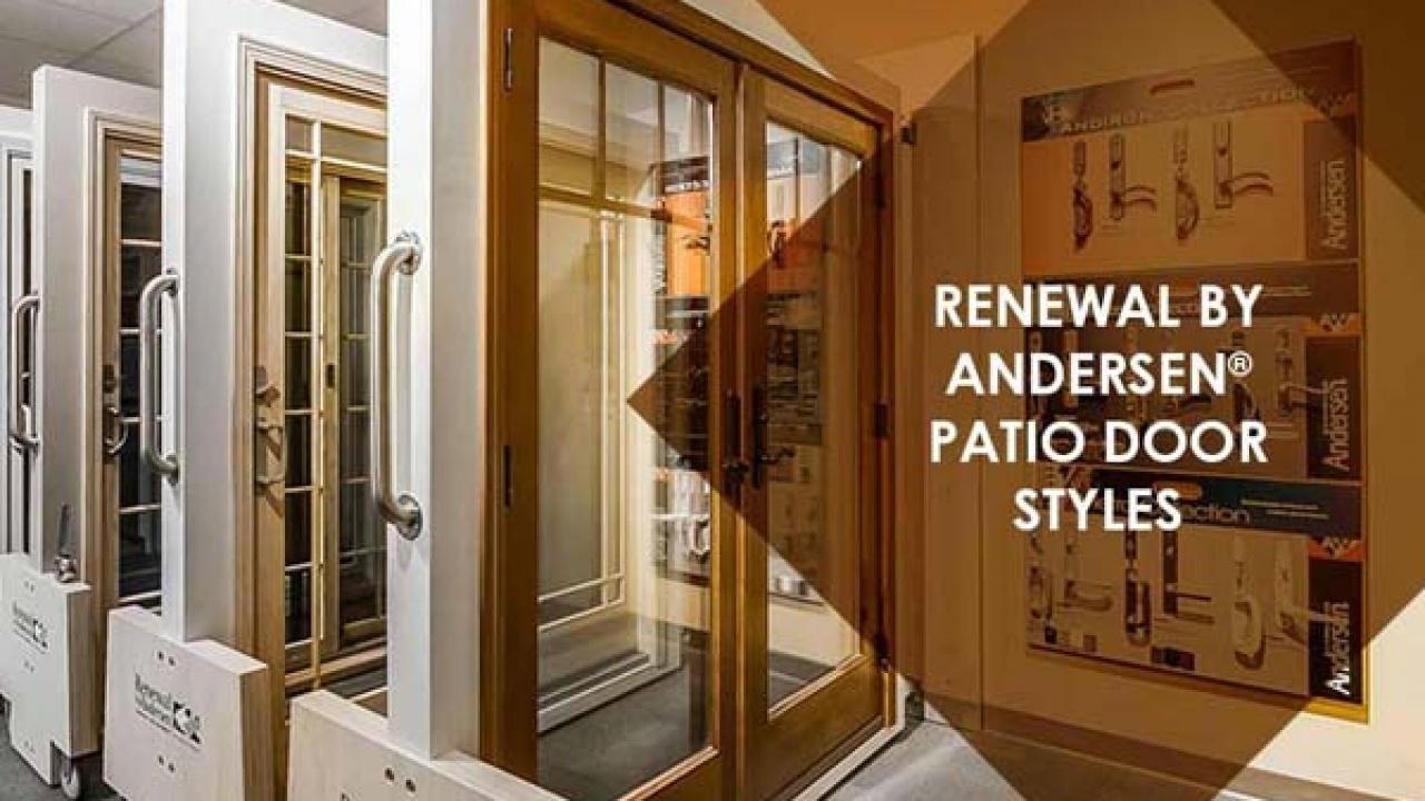 renewal by andersen patio door styles