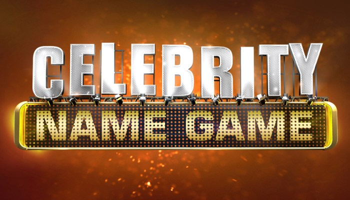 Celebrity Name Game Cancelled