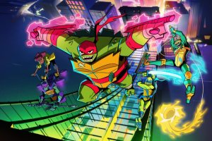 Rise of the Teenage Mutant Ninja Turtles TV Series
