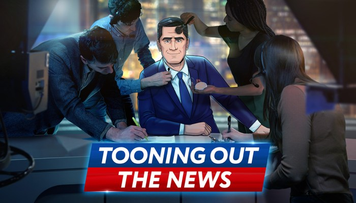 Stephen Colbert Presents Tooning Out the News renewed for season 2