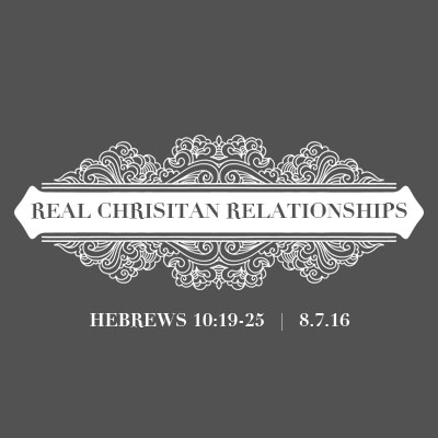 Real Christian Relationships - Teaching Button