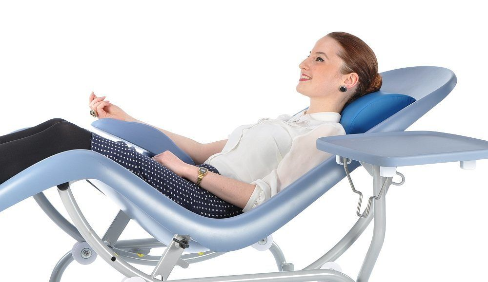 Blood Donor Chair  Innovation in seating  Renfrew Group
