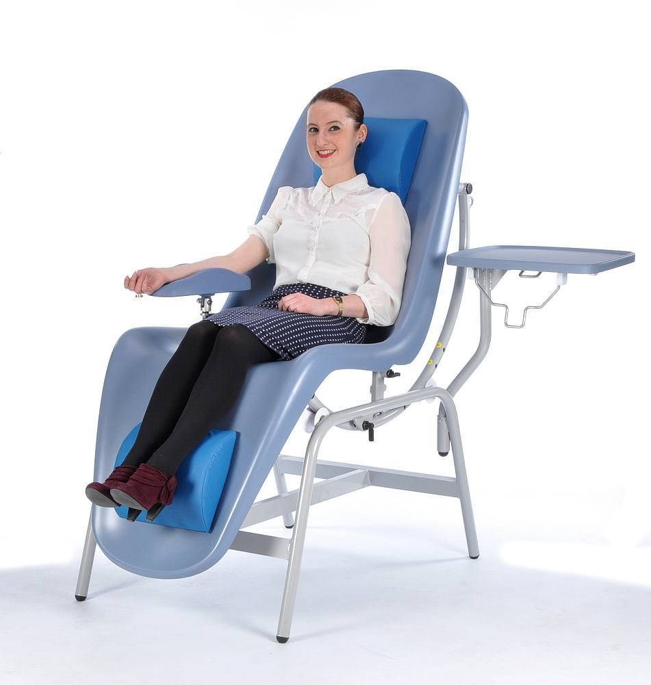 Blood Donor Chair  Innovation in seating  Renfrew Group International