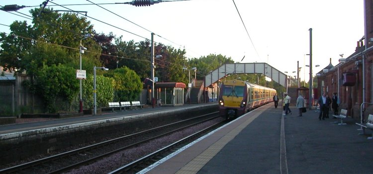 Police ask for help with Johnstone train station flasher