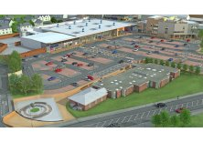 Another photo of how the new Linwood Town Centre will look.
