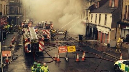 Wellmeadow Street fire appeal raises nearly £900