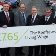 Renfrewshire Council Leader hails Living Wage achievements as major success