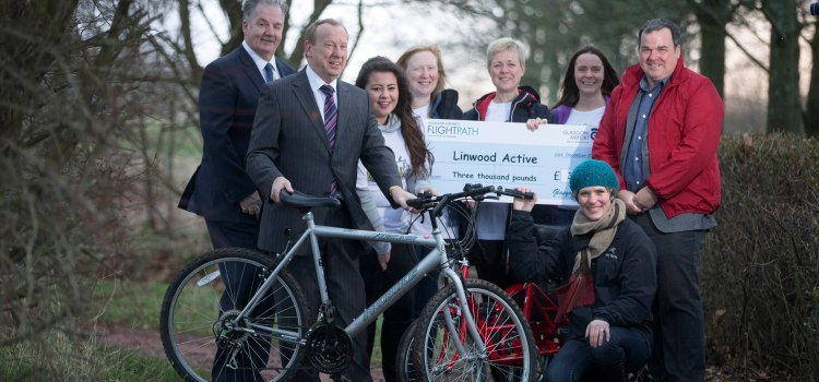 Linwood residents get active with Glasgow Airport support