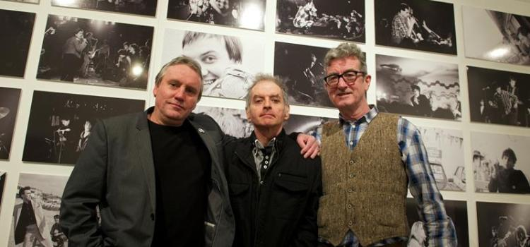 Exhibition of Early 1980s Rock Band Images opens at Paisley Museum