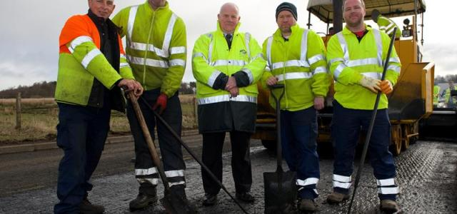 Multi-million cash boost for Renfrewshire's roads