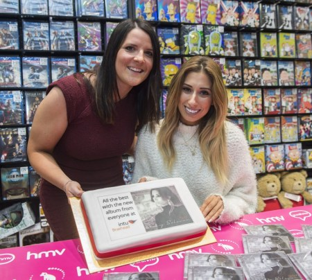 Stacey Solomon at the HMV store @ intu Braehead