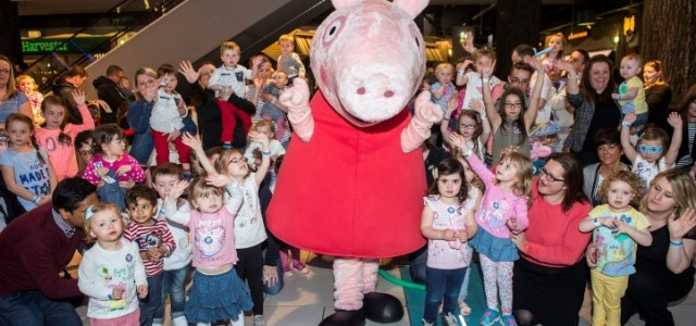 Kids joy as they meet telly favourite Peppa Pig