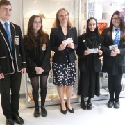 Bank of England Chief Cashier visits East Renfrewshire school
