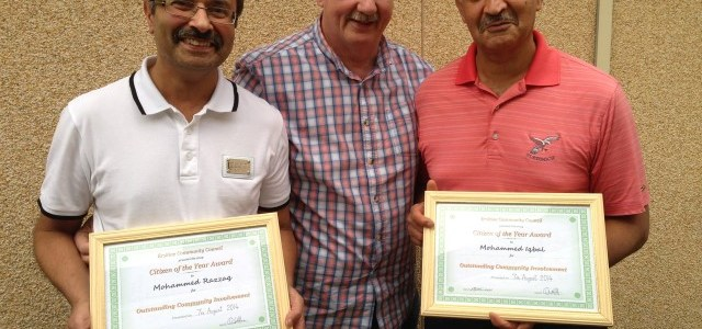 Nominations are being taken for Erskine Citizen of the Year 2015
