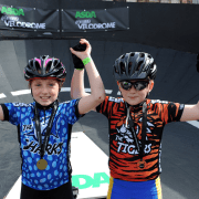 World's only pop-up cycle racetrack brings big crowd