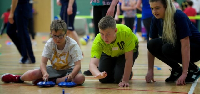 Hundreds of young people take part in Renfrewshire sports spectacular