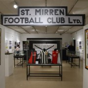 Back of the Net! New exhibition presents a fan's view of St Mirren FC