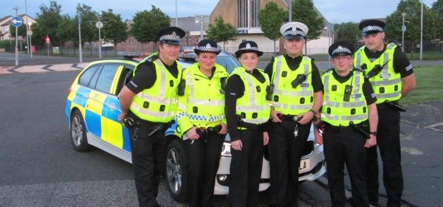 Special Constables lead the way in Paisley