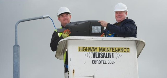 Council gives LED street lights the green light