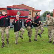 Sergeant gives his men the runaround before big 10K race