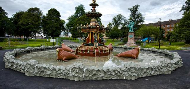 Grand Fountain wins Icon Conservation Award