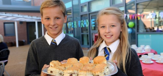 St James Primary pupils sing the praises of Fair Trade