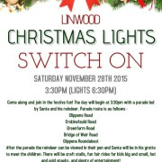 Light-up Linwood: Christmas lights switch-on date 2015