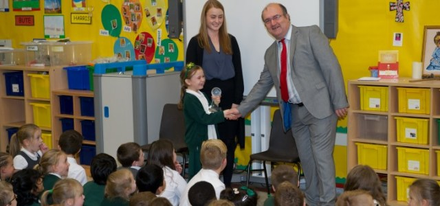 St James' named Fair Trade Primary School of the Year