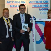 Local MP backs 'Moving On' campaign that helps support young people who are deaf or have hearing loss