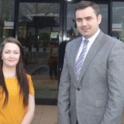 Local MP Congratulates Jodie Campbell for organising a free Christmas lunch for 196 people