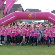 Hundreds of kids have fun on the run