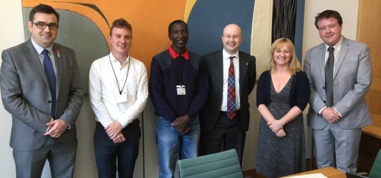 Local MP meets with Fairtrade farmers