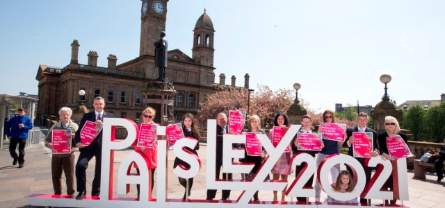 National orchestra to 'take over' Paisley for 2021 bid