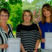 St Vincent's Hospice volunteers and staff receive long-service awards