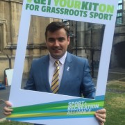 Gavin Newlands MP to champion grassroots sport in Paisley and Renfrewshire North