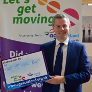 Mackay welcomes Age Scotland's Let's get moving! Campaign