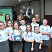 Gallowhill Primary School pupils receive special award from Dame Esther Rantzen