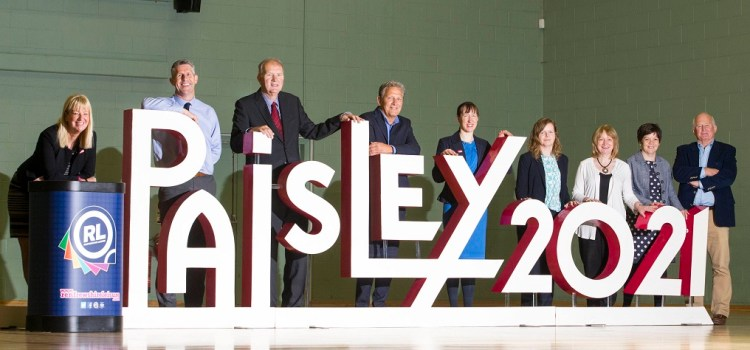 They're good sports for backing Paisley's City of Culture bid