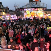 Johnstone gets set for Christmas lights switch-on