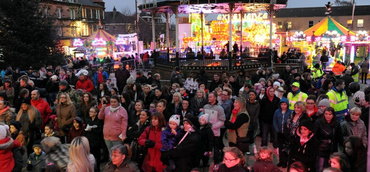 Johnstone Christmas lights switch on this Saturday