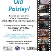 Good Old Paisley..A Town We Can be Proud of..!