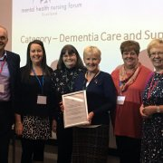 Erskine Care Home wins highly commended award for 'Food for Thought' project