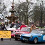 Cars set to depart Paisley for historic Monte Carlo Rally