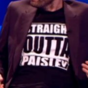 David Tennant's nod to hometown Paisley with T-shirt on live talk show