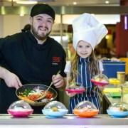 Half term cooking kids club at intu Braehead