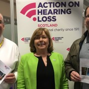 SNP council candidates back charity's project reducing digital isolation for deaf buddies
