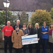 £1,140 raised for St Vincent's from former care receiver Mary Sweenie