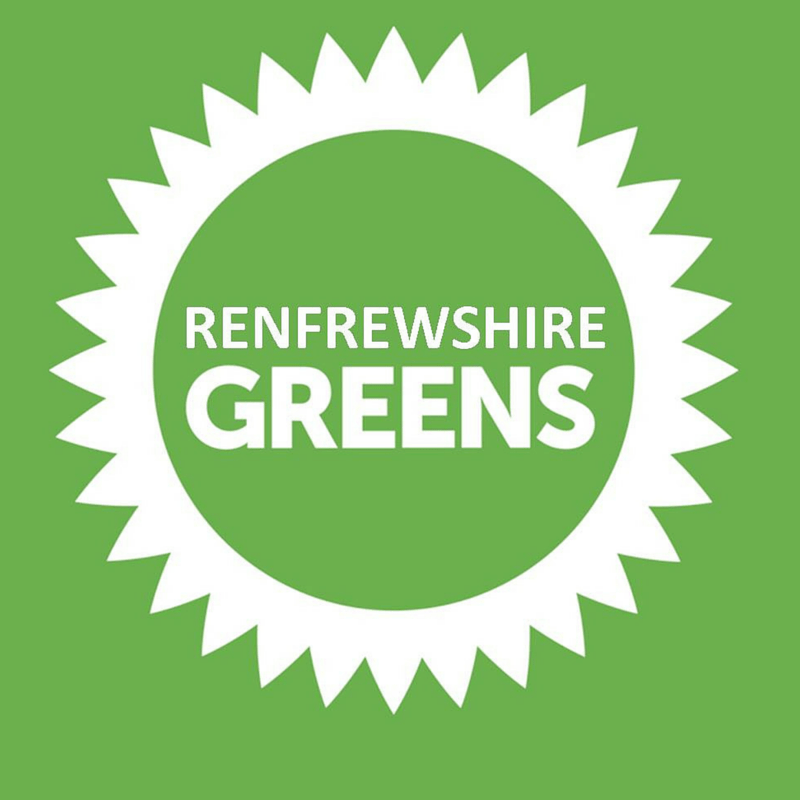 Scottish Green Party candidates for Renfrewshire Council Elections 2017